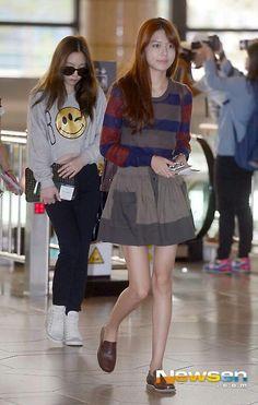 Taeyon and sooyoung