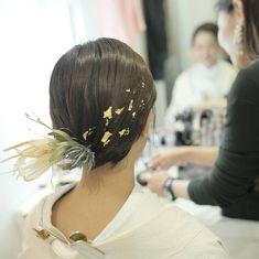 Wedding Hairstyles, Bridal Hairstyle, Fashion Accessories, Crown, Hair Styles, Kimono Fashion, Dresses, Flower, Clothes