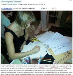 """Recsando, 16/10/2014, articolo """"Stilista sognando Valentino"""" dedicato a Veronica Rivalta http://www.recsando.it/rassegna-stampa/rassegna-stampa-home/17-san-donato-milanese/1302-stilista-sognando-valentino"""