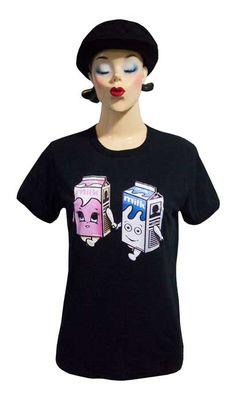 【Blur Milk Boy&Girl】ブラー ミルクボーイ&ガール Tシャツ(B)8