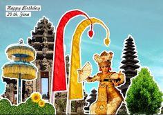 snappopup: pop up card: Bali dance
