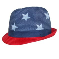c2827dc456d Dynamic Asia Kids USA American Flag Fedora Hat Kids Usa