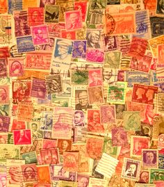 my stamp collection collage 2