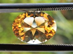 3.60 VVS OVAL FACETED BRAZILIAN CITRINE GEMSTONE CUT IN THE U.S NR22