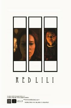 Plakat do filmu Red Lili | The poster for the Red Lili film