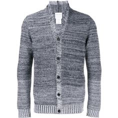 88f14d56a105b STEPHAN SCHNEIDER Shawl Collar Knitted Cardigan (42145 RSD) ❤ liked on  Polyvore featuring men s