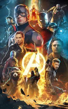 Avengers: Endgame Poster - Created by Boss Logic - Marvel Universe Marvel Avengers, Marvel Comics, Marvel Fan, Marvel Memes, Captain Marvel, Avengers Poster, Spiderman Marvel, All Marvel Heroes, Gotham Comics