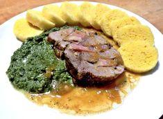 Slovakian Food, Pork, Food And Drink, Menu, Treats, Classic, Recipes, Kale Stir Fry, Menu Board Design