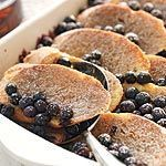 This heavenly blueberry breakfast for a crowd can be assembled the night before and popped into the oven one hour before breakfast time.