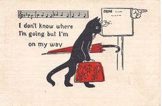 "tycheantiques:""Antique postcard, undated."""