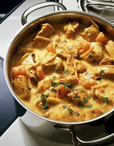 Leftover Turkey Curry *I will leave out the jalapeno and banana, and swap the canola oil for coconut oil