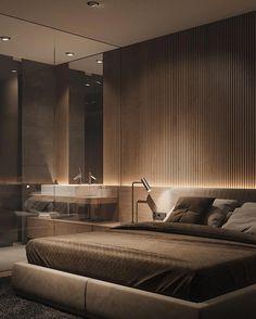 Modern Home Decor .Modern Home Decor Luxury Bedroom Design, Home Room Design, Master Bedroom Design, Luxury Home Decor, Home Decor Bedroom, Home Interior Design, Modern Luxury Bedroom, Suites, Minimalist Bedroom