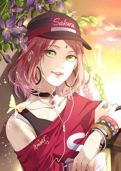 Sakura is so pretty isn't she!!!