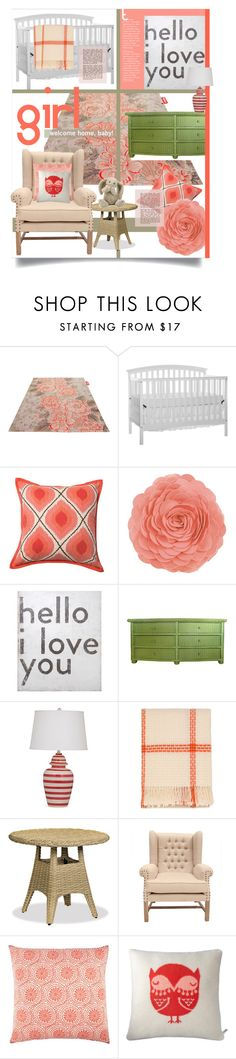 """""""Baby."""" by s-elle ❤ liked on Polyvore featuring interior, interiors, interior design, home, home decor, interior decorating, Fatboy, Loloi Rugs, Sugarboo Designs and Thos. Baker"""