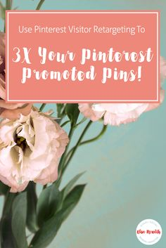 How to use visitor retargeting to your Pinteres… Pinterest Advertising, Pinterest Marketing, Advertising Ideas, Content Marketing Strategy, Media Marketing, Marketing Articles, Marketing Ideas, Digital Marketing, Pinterest For Business