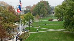 A rooftop view of The Eric Friedheim Quad at American University in Washington, DC. The best 1.5 years of my life.