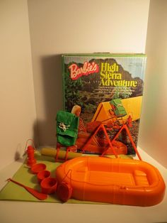 1974 Mattel #7408 Barbie High Sierra Adventure Camping Set Incomplete  #Mattel