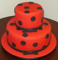 Resultado de imagem para bolo ladybug