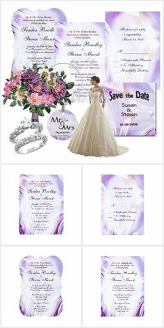 Abstract Pansy Wedding Invitations   50% OFF #leatherwooddesign #zazzle