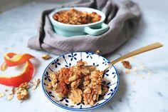 Havermout Appel Crumble