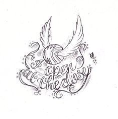 Golden Snitch Tattoo Sketch by Nevermore-Ink on DeviantArt