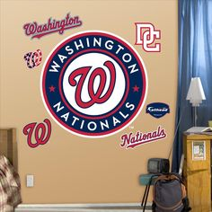 Washington Nationals Logo-Fathead Decal | Set