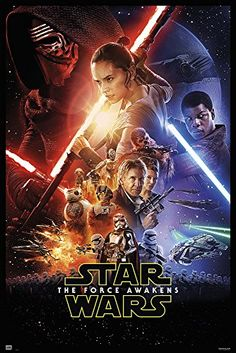 "Star Wars: Episode VII - The Force Awakens - Movie Poster / Print (Regular Style) (Size: 27"" x 40"") Posterstoponline http://www.amazon.com/dp/B019E7RZF2/ref=cm_sw_r_pi_dp_yA7Kwb16574R5"