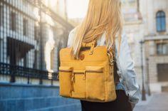 Nubuck leather Chivote Boombox bag