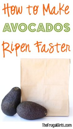 How to Make Avocados Ripen Faster! ~ at TheFrugalGirls.com ~ this simple little avocado trick works like a charm and will have them ripe and ready for recipes and guacamole in no time! #ripeness #thefrugalgirls