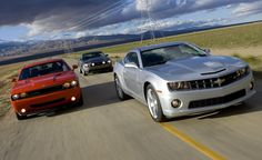 2010 Chevy Camaro SS vs. 2010 Ford Mustang GT, 2009 Dodge Challenger R/T