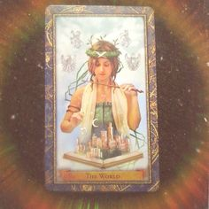 """#DailyTarot  Day 16  Card: The World  Meaning: A successful ending a new beginning and a deeper understanding of the connection between the two. Fulfillment and  wholeness especially within the self. Flourishing. All is well.  Interpretation: This is odd. I've never drawn the same card this many times within such a short period. But okay. I'll take it.  Anyway. I understand why the Universe is showing me this again. Today was my last day of freedom; the end of my """"break"""" from adulting. No…"""