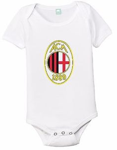 New ac #milan fc baby onesie soccer #toddler romper unisex #bodysuit gerber,  View more on the LINK: http://www.zeppy.io/product/gb/2/201606975190/
