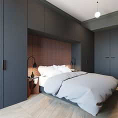 Small Home Layout 648307308831613939 - Small bedroom design ideas Source by Small Bedroom Designs, Small Room Design, Modern Bedroom Design, Bed Design, Home Design, Interior Design, Small Modern Bedroom, Modern Design, Small Bedrooms