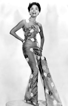 Horne's father left when she was just a toddler while her mother was often travelling with a black theater troupe. She began singing at New York's famous Cotton Club at the age of sixteen.