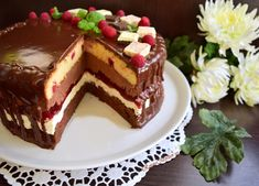 Sweets Recipes, Cake Recipes, Romanian Desserts, Vegan Meal Prep, Vegan Kitchen, Homemade Cakes, Something Sweet, Vegan Desserts, Yummy Cakes