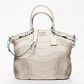 I love this Coach bag... just not the price. So I'll dream a little bit more: Madison Gathered Leather Lindsey Satchel.