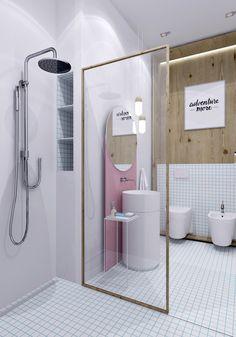 Строгие формы современности - Ванная комната 3D – Комфорт & Стиль | PINWIN - конкурсы для архитекторов, дизайнеров, декораторов