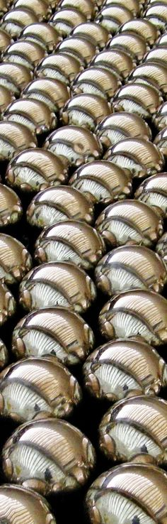 color inspiration | silver - smooth, cool, metallic balls
