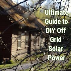 Renewable Energy, Solar Energy, Off Grid Solar Power, Solar Installation, Diy Camper, Diy Solar, Off The Grid, Green Life, Sustainable Living