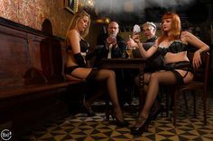 "Candy Kayne & Ce Line at ""La Barique Bar"""