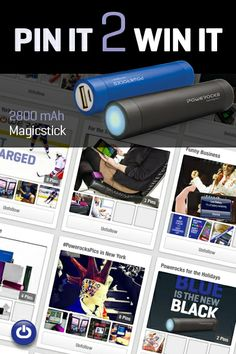 """Want to win a Powerocks Magicstick valued at $49.99? Enter our """"Pin it 2 Win it"""" giveaway on Facebook.. Who knew pinning could be profitable! http://woobox.com/iojuip"""