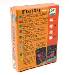 Детская настольная карточная игра Мистигри Djeco 05105