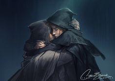 Aelin and Rowan in Queen of Shadows