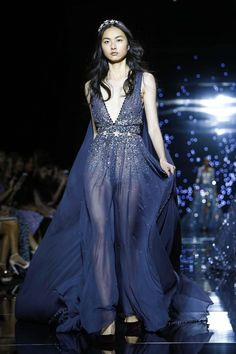 Zuhair Murad Couture Fall Winter 2015 Paris - NOWFASHION