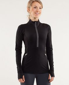love this lululemon top! I have it in gray and coral. great running gear.