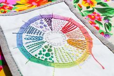 Love Color Theory and Embroidery? Try This Embroidery Sampler Pattern