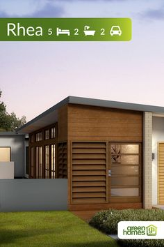 The Rhea is a real entertainers home, perfect for the family that loves the outd. The Rhea is a re Green House Design, Activity Room, Energy Efficient Homes, Australian Homes, Garden Spaces, That's Love, Home Builders, Garden Design, Modern Design