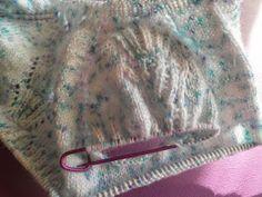 ARTES-ANAS: CANESÚ 12 HOJAS, JUBÓN BEBÉ Lana, Personalized Items, Knitted Baby, Crochet Stitches, Crochet Baby