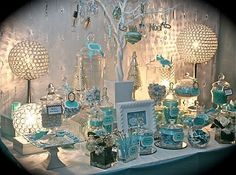 Breakfast at Tiffany's Party Decorations | Breakfast at Tiffany `s party buffet