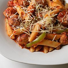 Sausage Penne Pasta Recipe on Yummly